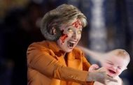 After watching these pics of Hillary, you won't need to watch horror movies