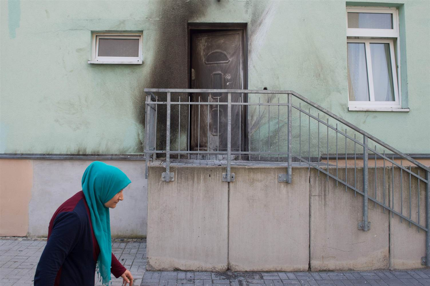 Dresden Attack :  Mosque and conference center targeted in the Germany