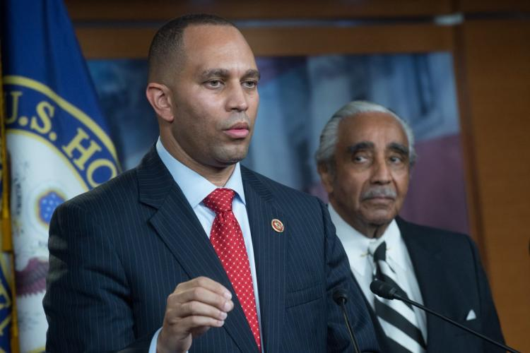Every racist in America voted for Donald trump: said Hakeem Jeffries, a Democrat congressman