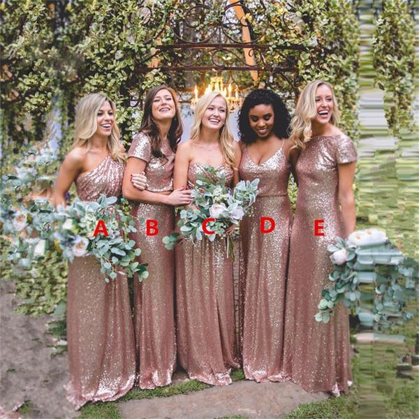 Follow these Tips and Keep Dazzling Sequin Bridesmaid Dresses like New Forever
