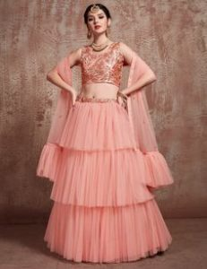 Party wear Lehenga choli online
