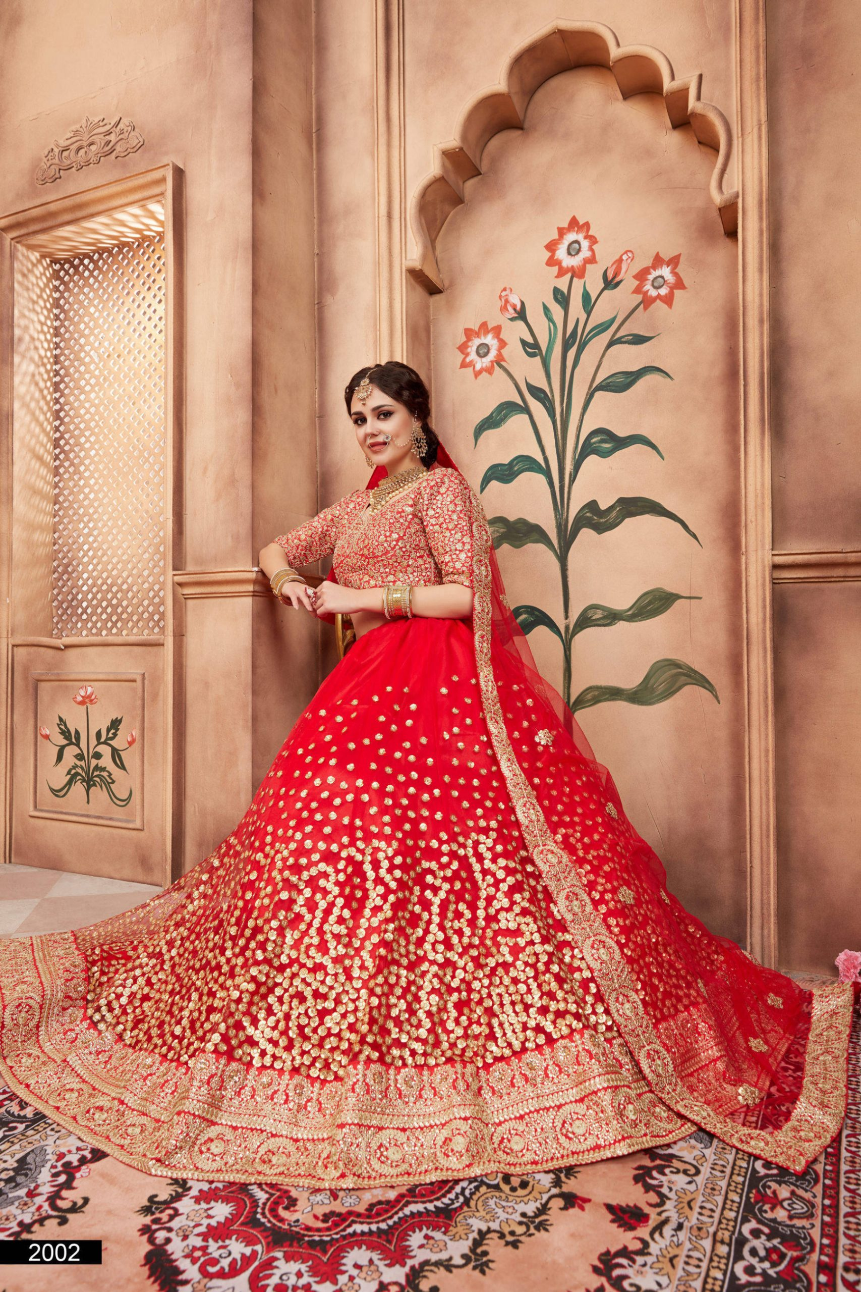 Types of Heavy Work Bridal Lehenga Choli You Must Know About!
