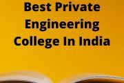 Selecting One Of The Best Engineering Colleges In India