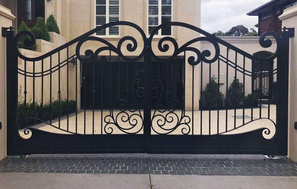 3 Advantages of Wrought Iron Gates Kew