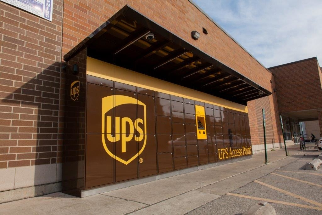 Service provided by UPS Drop off near me