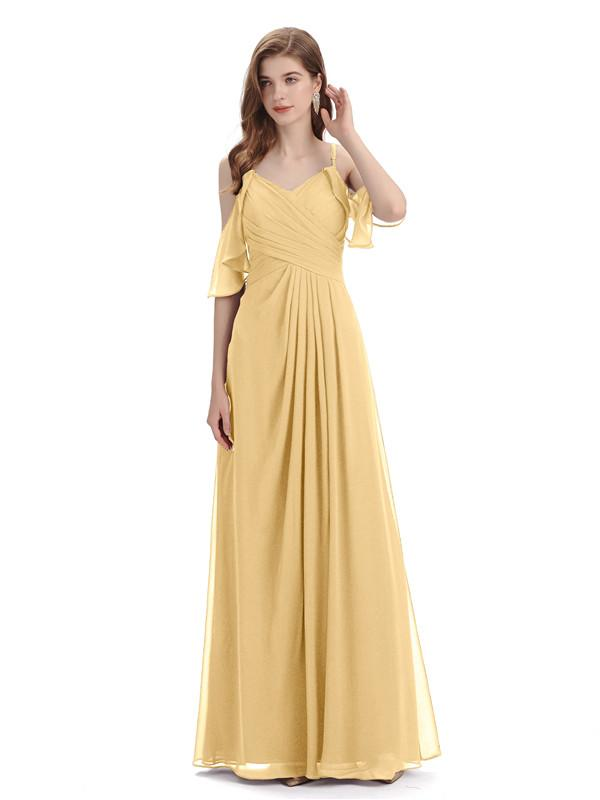 Long vs Short Gold Bridesmaid Dresses in 2021: Know What You should Do
